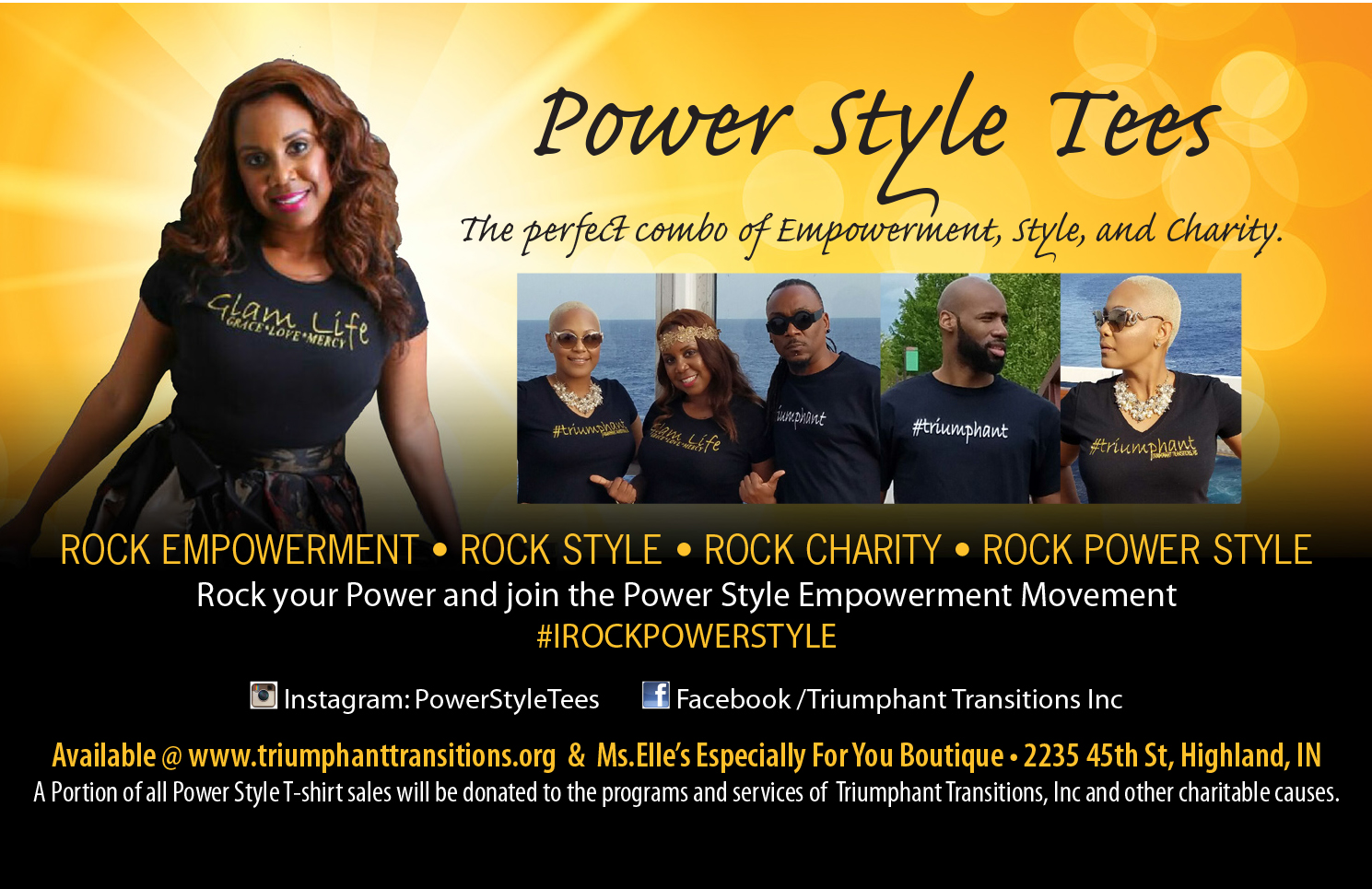 Power Style Tees